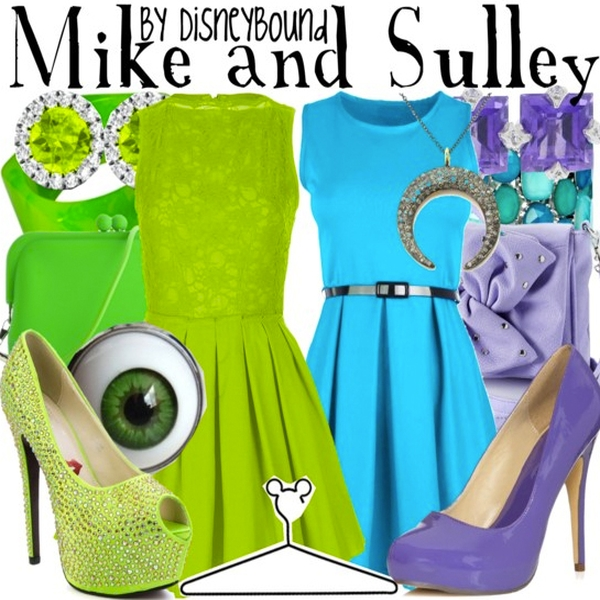 Maike e Sulley do Monstros SA
